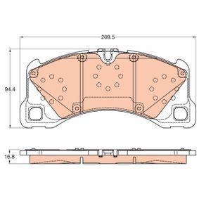 Bremsbelagsatz, Scheibenbremse Art. Nr. GDB2052 120,00€