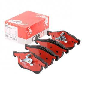 Brake Pad Set, disc brake Height 1: 69mm, Height 2: 72,5mm, Thickness: 18,5mm with OEM Number 8 634 921-4