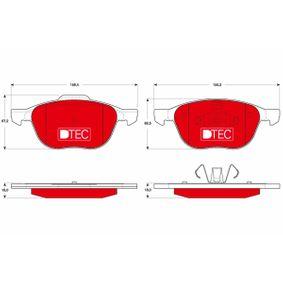 Bremsbelagsatz, Scheibenbremse Höhe: 67,2mm, Dicke/Stärke: 18mm mit OEM-Nummer 7M512K021AALC