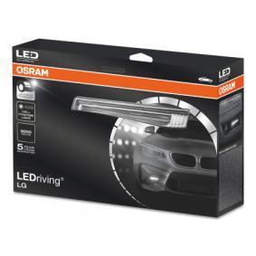 Zestaw reflektorów do jazdy dziennej LEDDRL102 OPEL ASTRA, CORSA, ZAFIRA