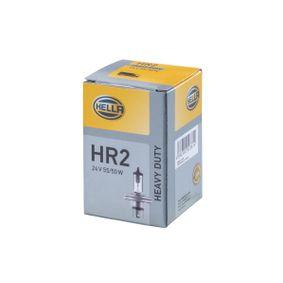 Glühlampe, Fernscheinwerfer R2 (Bilux), 55/50W, 24V 8GD 002 088-271 MERCEDES-BENZ T1 Bus, T2