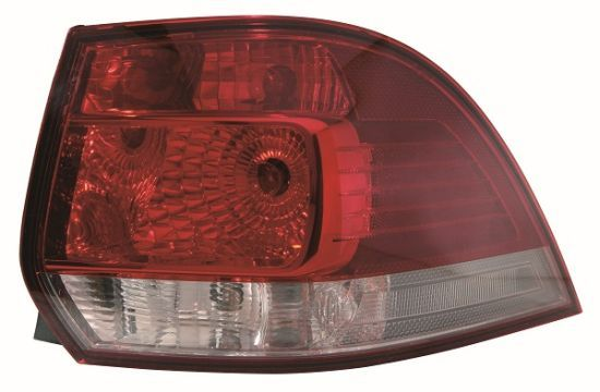 ABAKUS  441-1995R-LD2UE Combination Rearlight Red, for left-hand drive vehicles