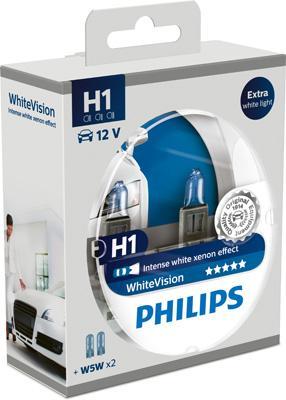 Bulb, spotlight PHILIPS H1 rating