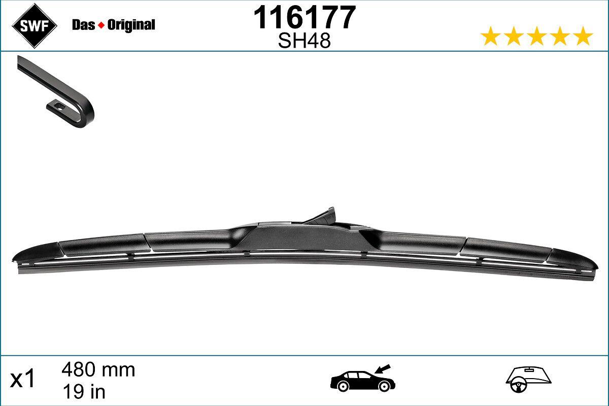 Scheibenwischer 116177 SWF 116177 in Original Qualität