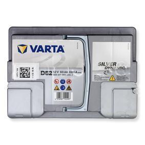 VARTA SILVER dynamic 560901068D852 Starterbatterie Polanordnung: 0