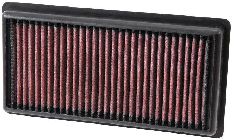 K&N Filters  33-3006 Luftfilter Länge: 238mm, Breite: 124mm, Höhe: 29mm, Länge: 238mm