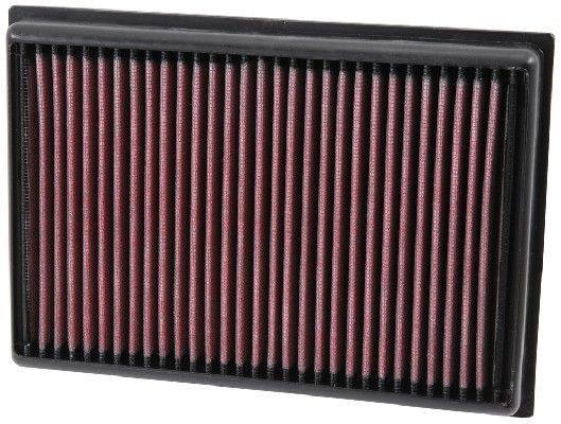 K&N Filters  33-5007 Luftfilter Länge: 229mm, Breite: 160mm, Höhe: 30mm, Länge: 229mm