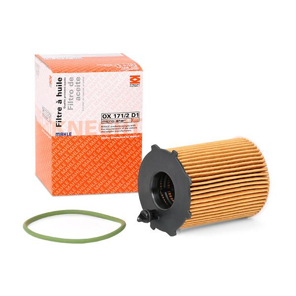 Oil Filter MAHLE ORIGINAL OX 171/2D1 expert knowledge