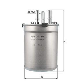 Fuel filter Article № KL 838 £ 140,00