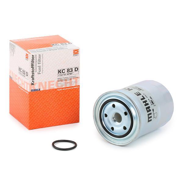 Inline fuel filter MAHLE ORIGINAL KC83D expert knowledge