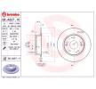 Спирачни дискове BREMBO 7624391 плътен, с покритие