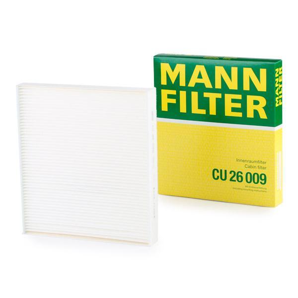 Staubfilter MANN-FILTER CU26009 Erfahrung