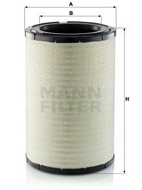MANN-FILTER  C 32 160 Luftfilter Höhe: 484,2mm