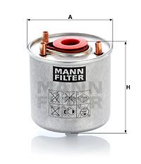 Article № WK 9046 z MANN-FILTER prices
