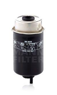 MANN-FILTER  WK 8038 Fuel filter Height: 166mm