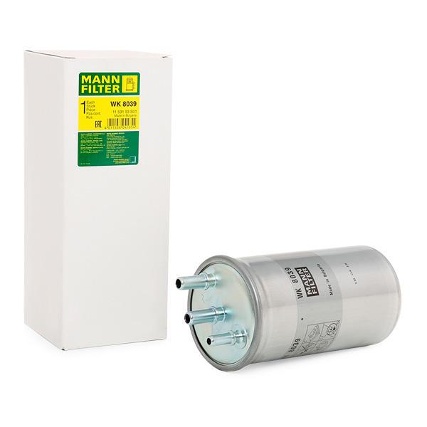 Inline fuel filter MANN-FILTER WK8039 expert knowledge