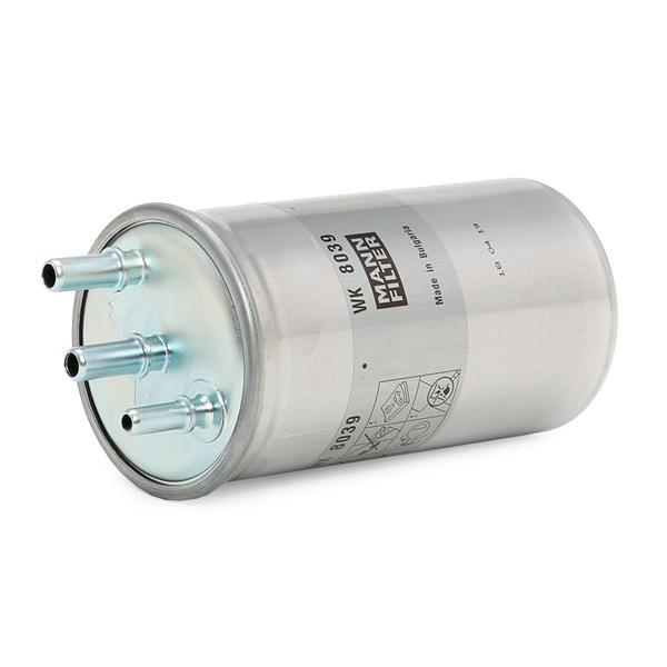 Inline fuel filter MANN-FILTER WK 8039 4011558041854