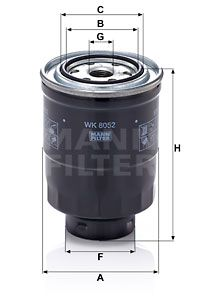 Article № WK 8052 z MANN-FILTER prices