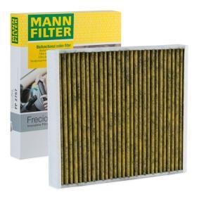 Filter, Innenraumluft Länge: 272mm, Breite: 234mm, Höhe: 32mm mit OEM-Nummer 1802422
