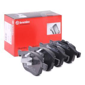 Bremsbelagsatz, Scheibenbremse Breite: 155,3mm, Höhe: 62,4mm, Dicke/Stärke: 18,2mm mit OEM-Nummer MECV6J-2K021-AA
