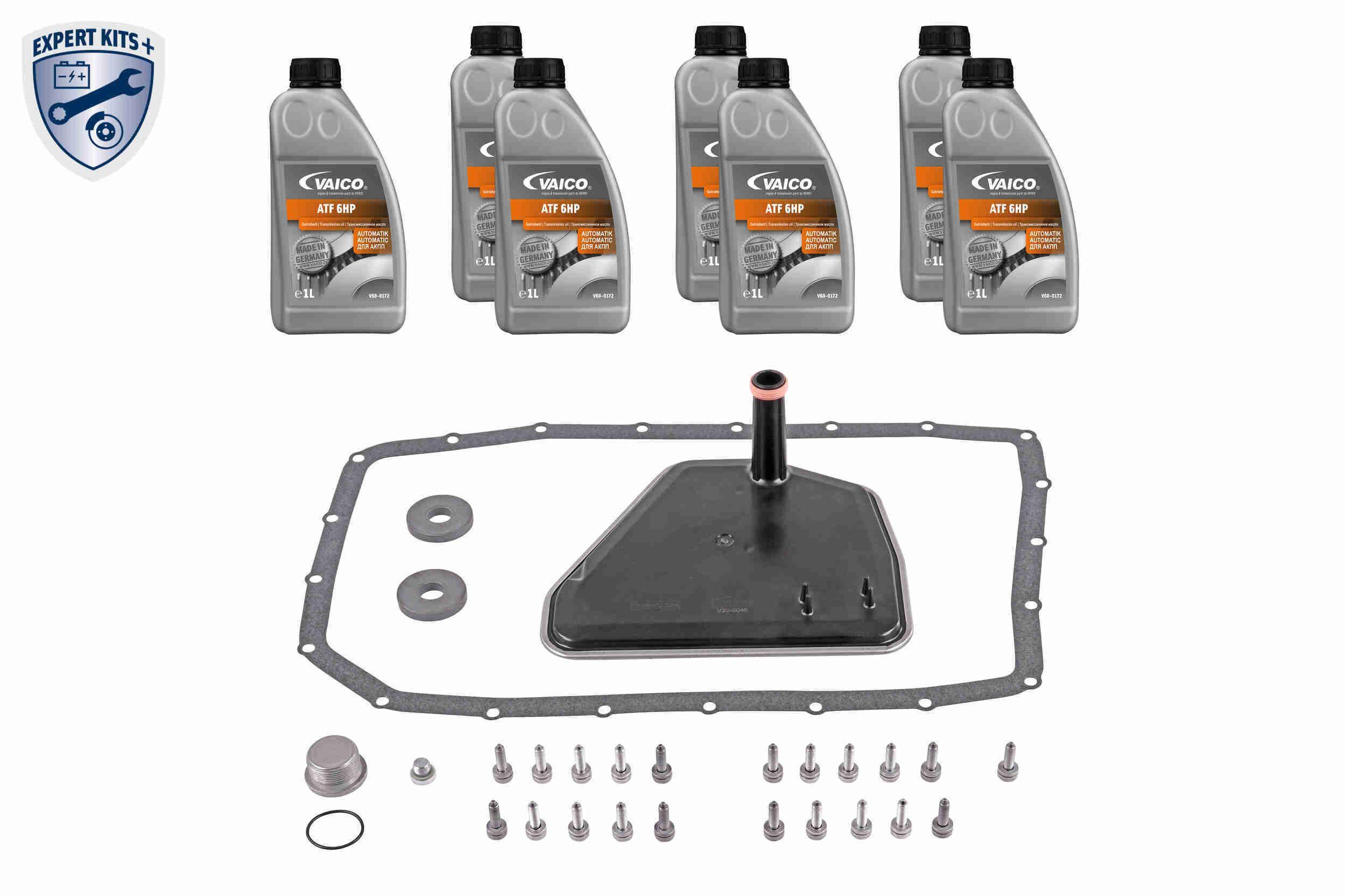 VAICO  V20-2081 Teilesatz, Ölwechsel-Automatikgetriebe 6HP26 X, 6HP32 (HSL 015+016, 6HP26Z, 6HP32Z