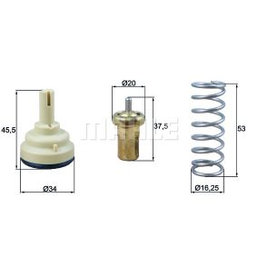 Thermostat, Kühlmittel mit OEM-Nummer 9M5Q-8A586-AA