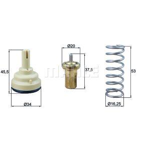Thermostat, Kühlmittel mit OEM-Nummer 1336 AS