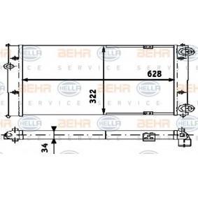 Ψυγείο, ψύξη κινητήρα με OEM αριθμός 6K0121253G