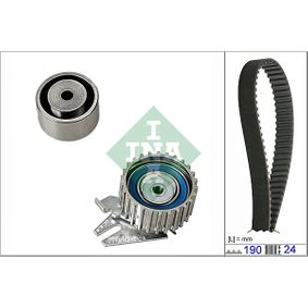 Timing Belt Set Width: 24,00mm with OEM Number 551 8352 7