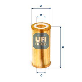 Ölfilter Ø: 52,0mm, Innendurchmesser 2: 25,0mm, Höhe: 111,0mm mit OEM-Nummer 06K115562
