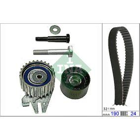 INA  530 0622 10 Kit cinghie dentate Largh.: 24,00mm