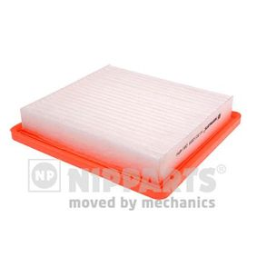 Air Filter Length: 189mm, Width: 202mm, Height: 34,5mm, Length: 189mm with OEM Number 165463VD0A