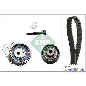 Timing Belt Set Width: 24,00mm with OEM Number 5518 3527