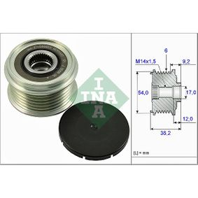 INA  535 0263 10 Generatorfreilauf