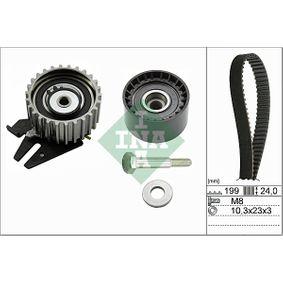 Timing Belt Set Width: 24,00mm with OEM Number 55238027