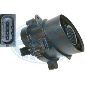 Sistema Eléctrico del Motor BMW X5 (E70) 3.0 d de Año 02.2007 235 CV: Medidor de la masa de aire (558133) para de ERA