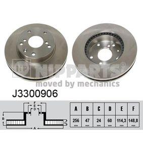 Bremsscheibe J3300906 EPICA (KL1_) 2.5 Bj 2009