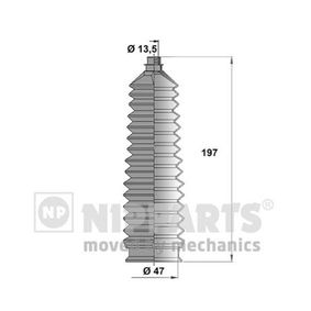 Bellow Set, steering Height: 197,0mm with OEM Number 0K30B-32-125