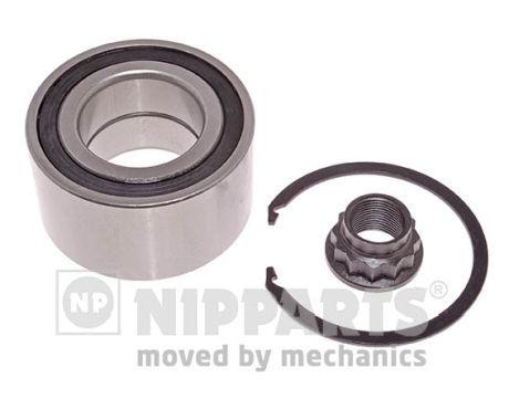 NIPPARTS  J4702036 Juego de cojinete de rueda Ø: 84mm, Diám. int.: 45mm