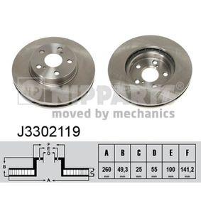 Bremsscheibe Art. Nr. J3302119 120,00€