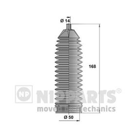 Bellow Set, steering Height: 168,0mm with OEM Number D8203-1KA0A-