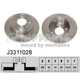 Nissan Almera n16 1.5 Wasserpumpe + Zahnriemensatz NIPPARTS J3311028 (1.5 Benzin 2004 QG15DE)