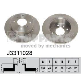 Bremsscheibe Art. Nr. J3311028 120,00€