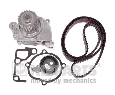 NIPPARTS  N1163002 Water pump and timing belt kit Width: 25mm