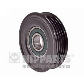 Deflection / Guide Pulley, v-ribbed belt Ø: 76mm with OEM Number 38950P2K305