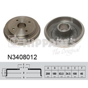 Brake Drum Article № N3408012 £ 140,00