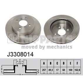Bremsscheibe Art. Nr. J3308014 120,00€