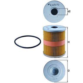 Ölfilter Ø: 84,0mm, Ø: 84,0mm, Innendurchmesser 2: 23mm, Innendurchmesser 2: 23mm, Höhe: 106mm mit OEM-Nummer 021115562