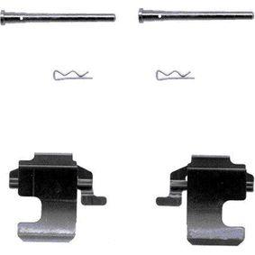 Accessory Kit, disc brake pads 82033600 PANDA (169) 1.2 MY 2016