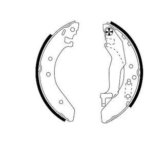Комплект спирачна челюст 91043900 25 Хечбек (RF) 2.0 iDT Г.П. 2002